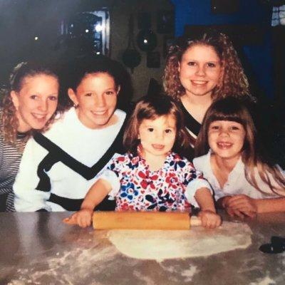 five Girls Bread Making
